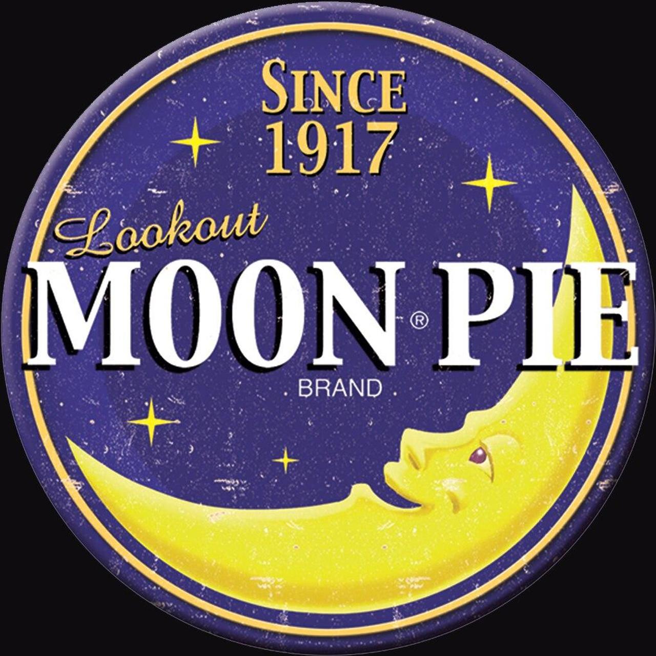 Moon Pie Magnet Moon Pie Logo Round
