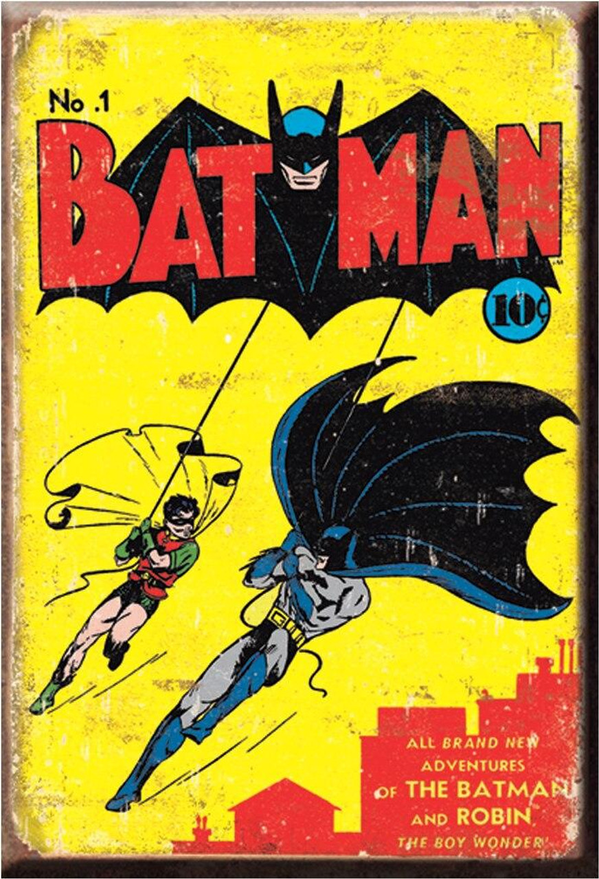 DC Comics Magnet Batman No1 Cover