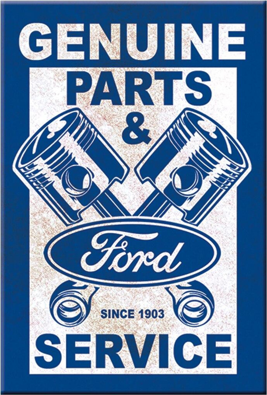 Ford Magnet Ford Service - Pistons