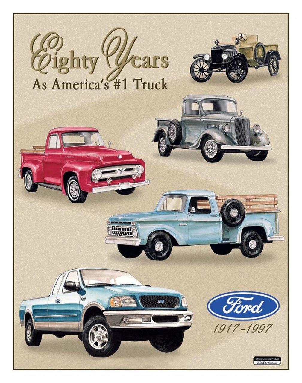 Ford Ford TRUCKS - 80 YR TRIBUTE