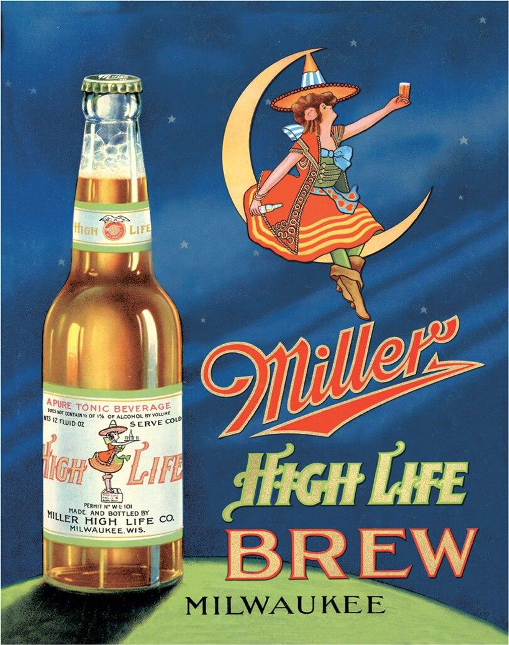 Molson Coors Miller High Life Brew