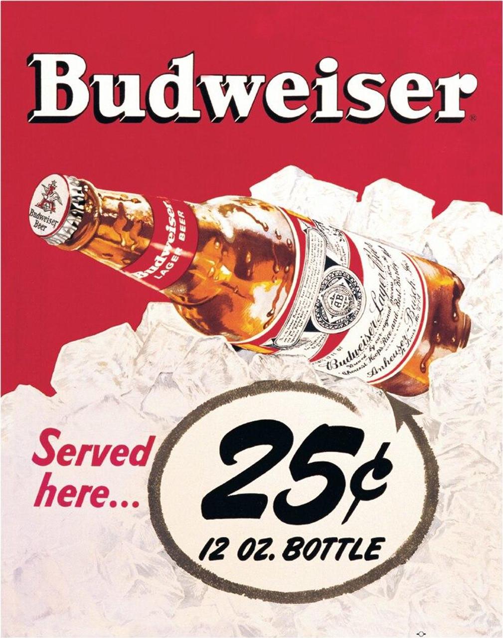 Anheuser-Busch Budweiser - 25 Cent