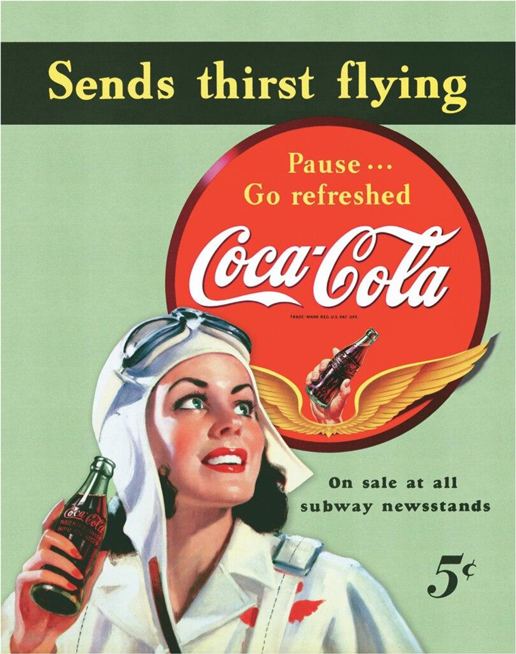 Coca-Cola COKE - Sends Thirst Flying