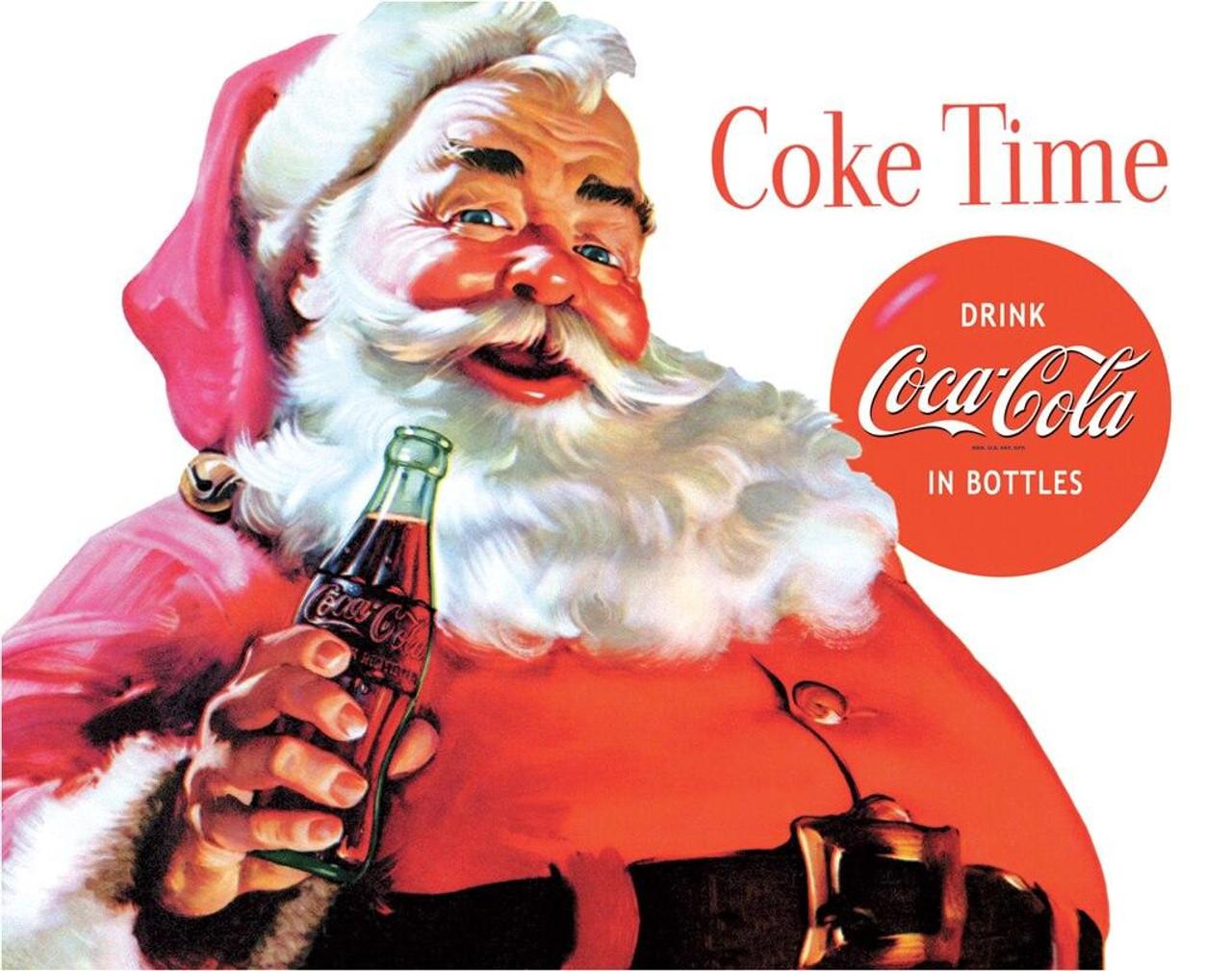 Coca-Cola COKE - Santa - Coke Time