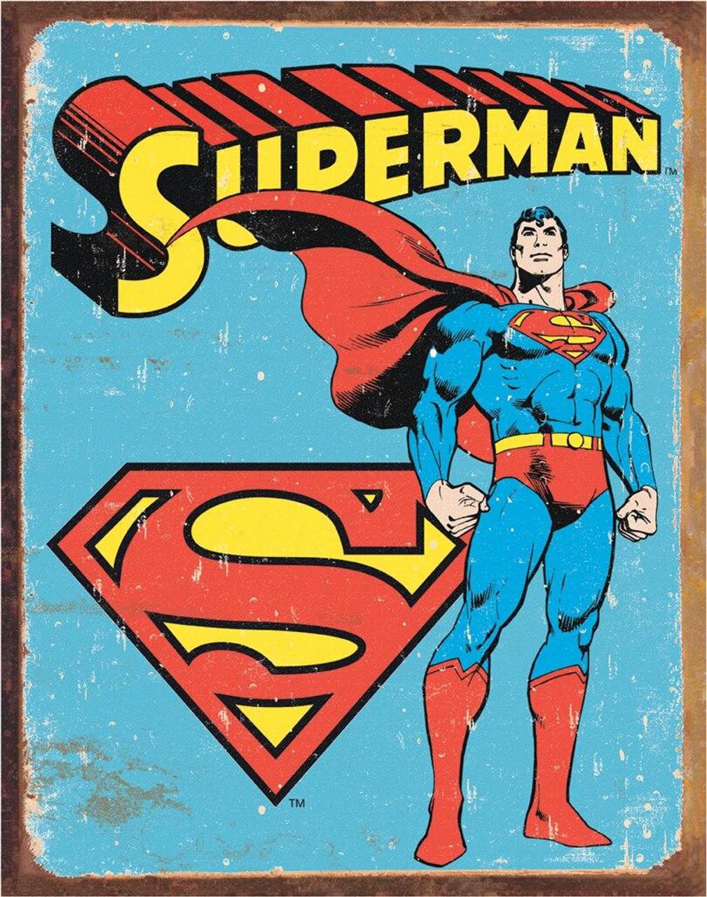 DC Comics Superman - Retro