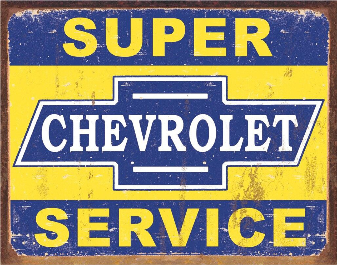 General Motors Super Chevy Service