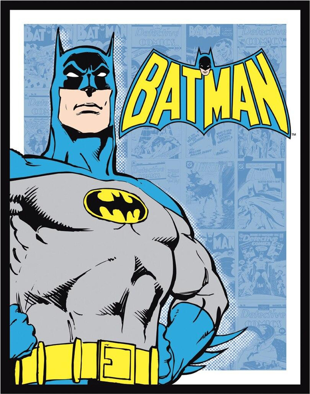 DC Comics Batman - Retro Panels