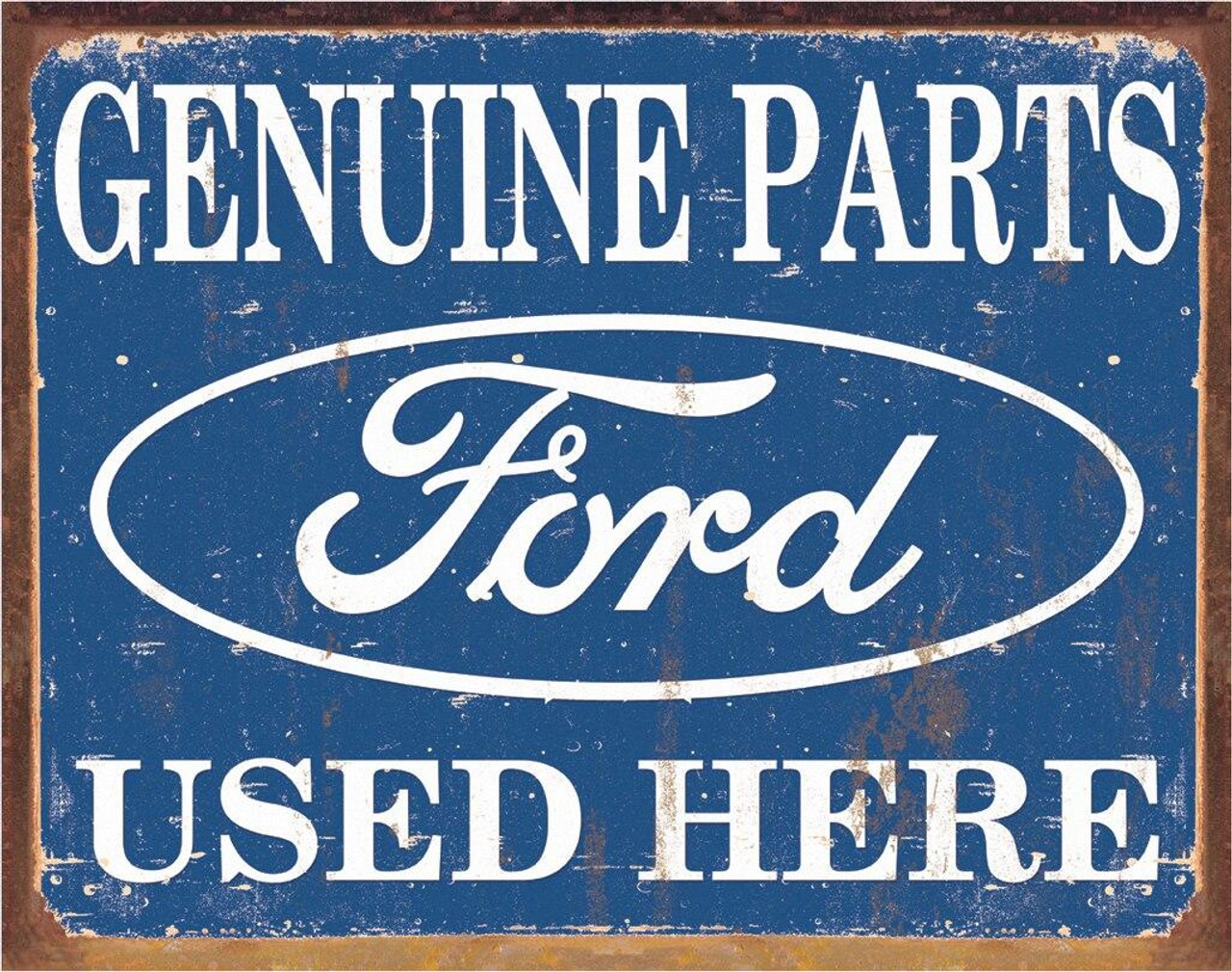 Ford Ford Parts Used Here