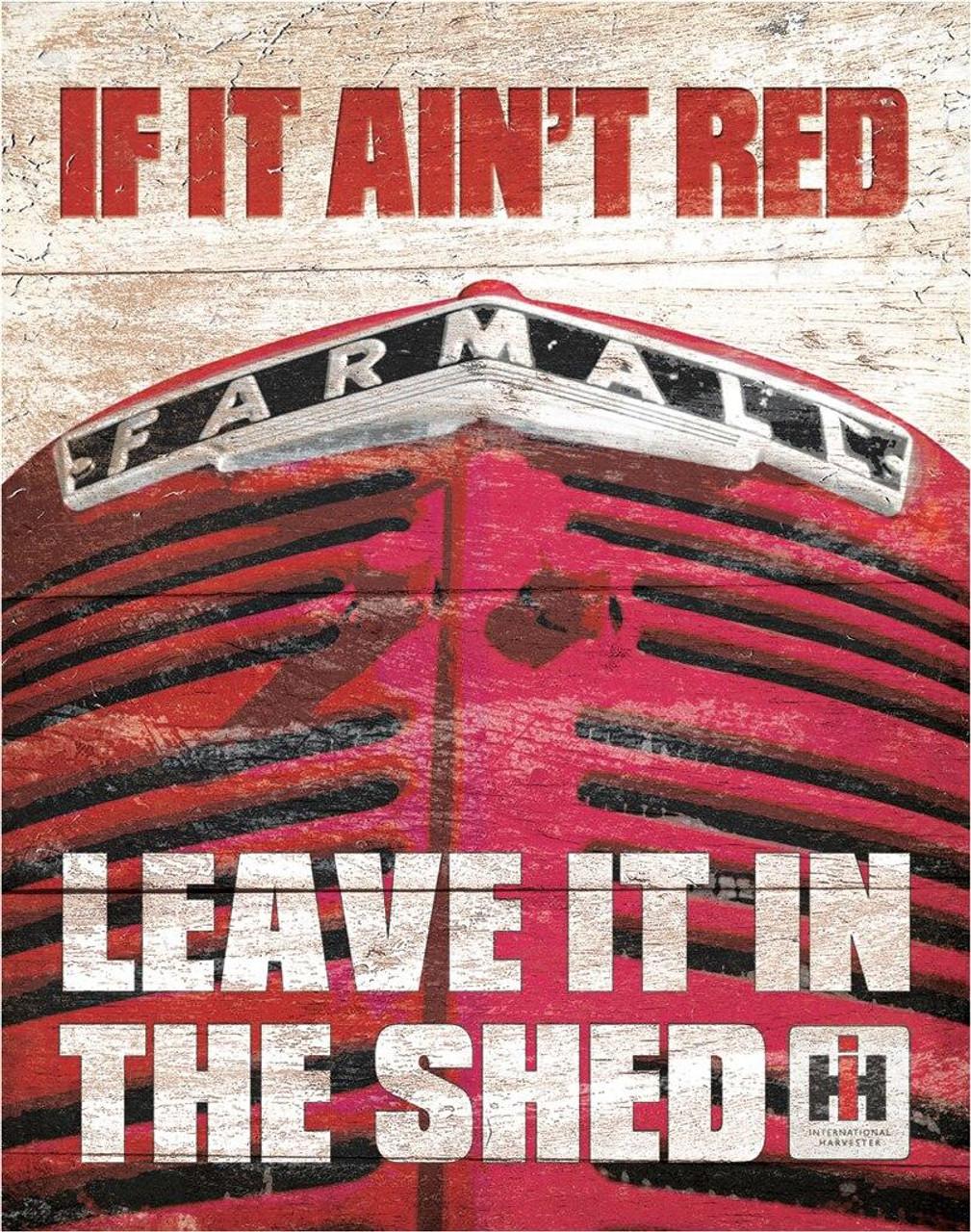 Farmall Farmall - If it Aint Red