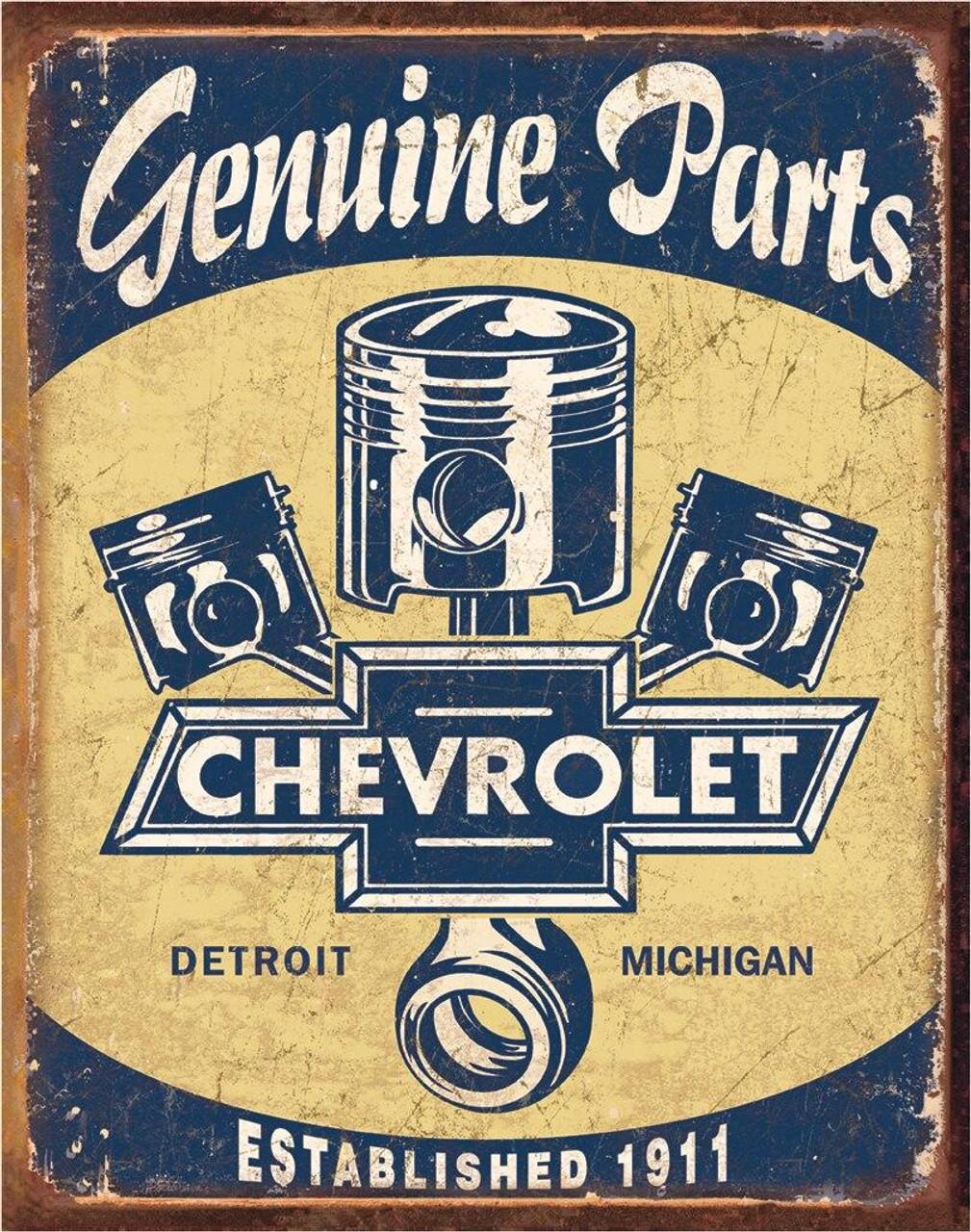 General Motors Chevy Parts - Pistons