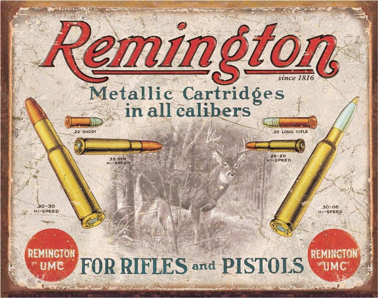 Remington REM - For Rifles and Pistols