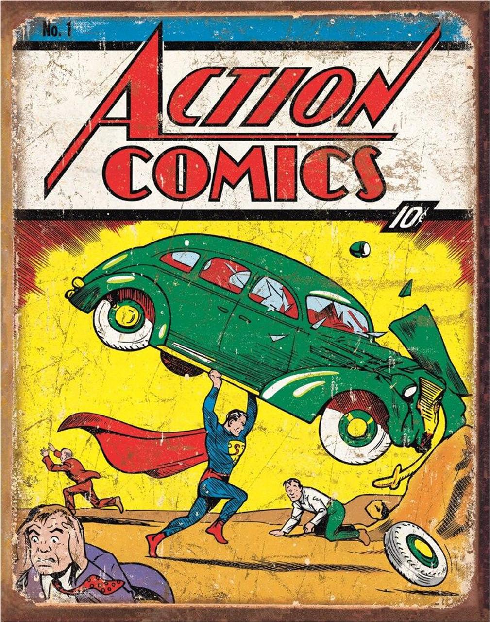 DC Comics Action Comics No1 Cover