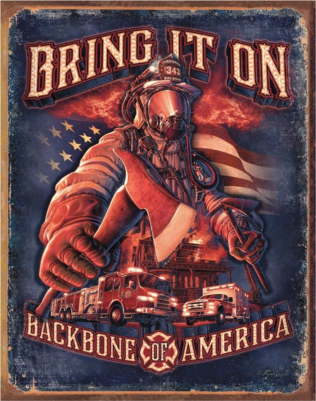 Fire Fighters - Bring It On