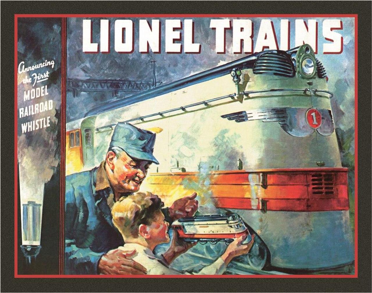 Lionel Trains Lionel 1935 Cover