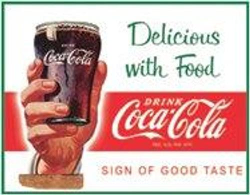 Coca-Cola COKE - Delicious with Food