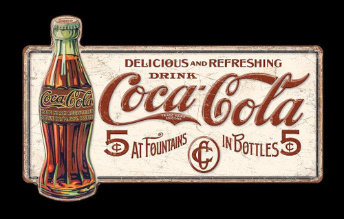 Coca-Cola COKE- Delicious 5 Cents
