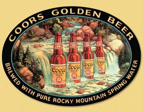 Molson Coors Coors Waterfall