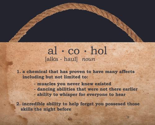 Wood - Alcohol