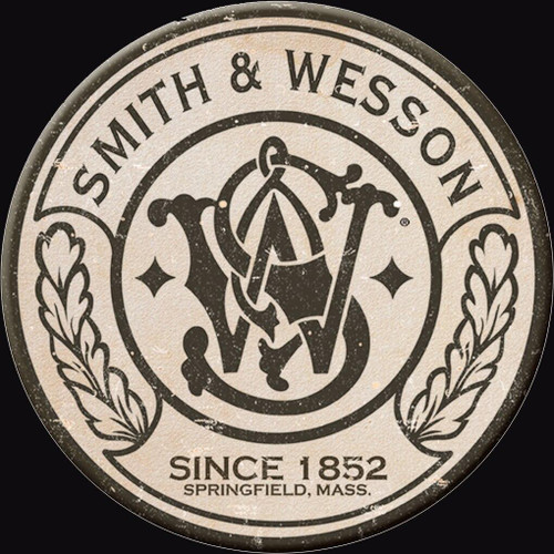 Smith and Wesson Magnet Smith and Wesson Round