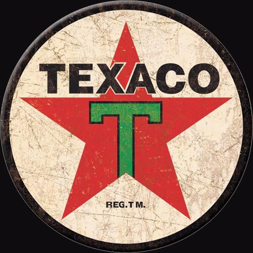 Texaco Magnet Texaco 36 Logo Round