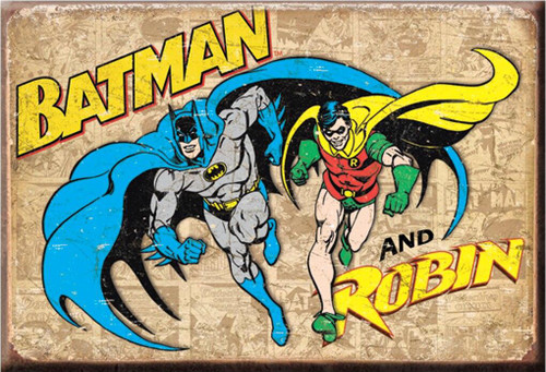 DC Comics Magnet Batman and Robin