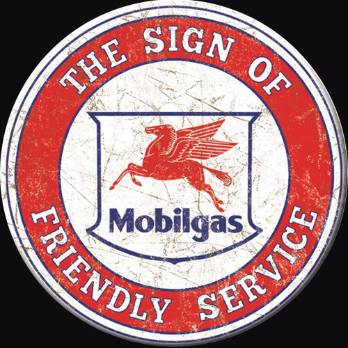 Mobilgas Magnet Mobil Service Round