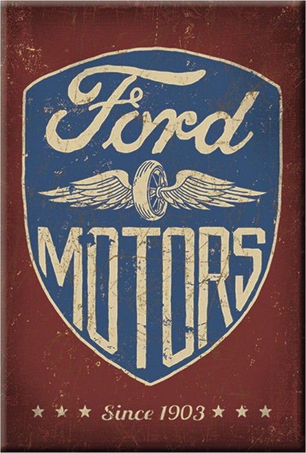 Ford Magnet Ford Motors Since 1903