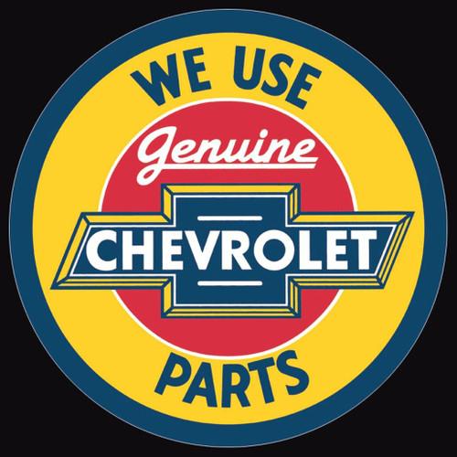 General Motors Chevy Round Genuine Parts