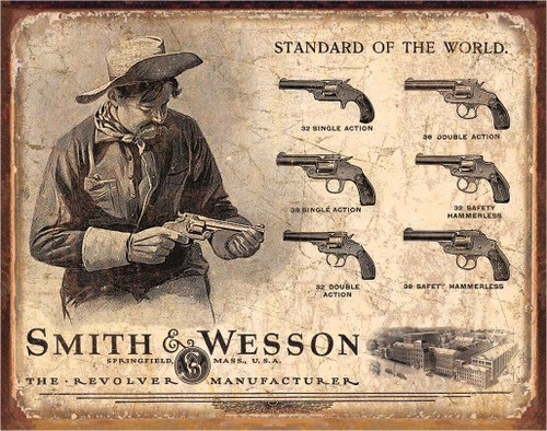 Smith and Wesson SandW Revolver Manufacturer