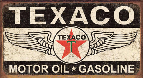Texaco Texaco Winged Logo