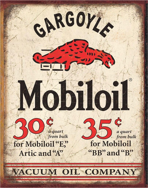 Mobilgas Mobil Gargoyle