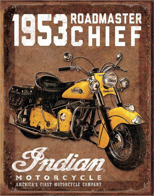 Indian Motorcycles 1953 Indian Roadmaster