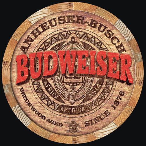 Anheuser-Busch Budweiser Barrel End