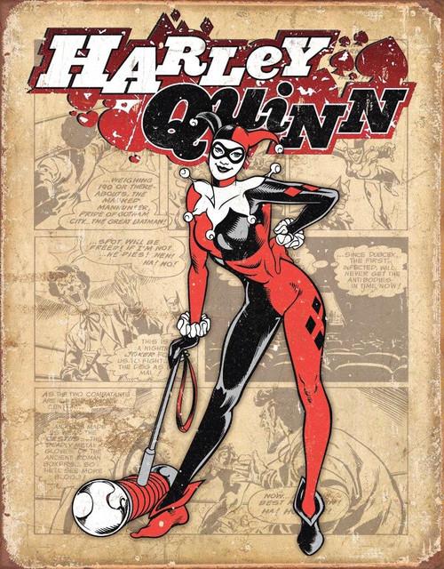 DC Comics Harley Quinn - Retro