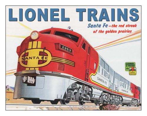 Lionel Trains Lionel Santa Fe