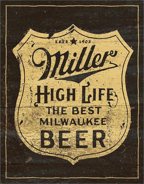 Molson Coors Miller - Vintage Shield
