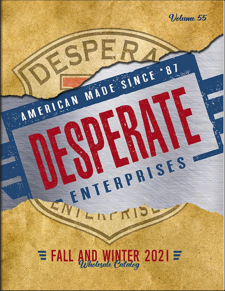 View & Download Desperate Fall / Winter 2021 Catalog