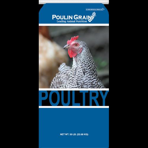 Poulin Chick Starter Crumbles - 50 lb