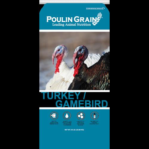 Poulin Gamebird Starter/Grower Crumble - 50 lb
