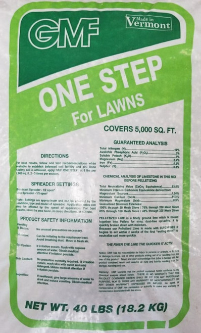 ONE STEP FOR LAWNS