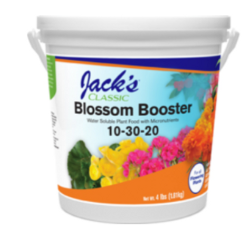 Blossom Booster Water Soluble Plant Food - 10-30-20 - 4 lb