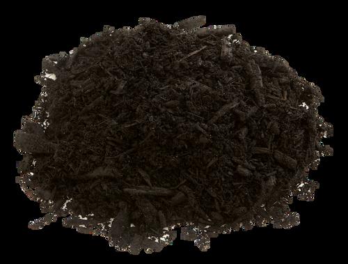 Black Bark Mulch By The Yard