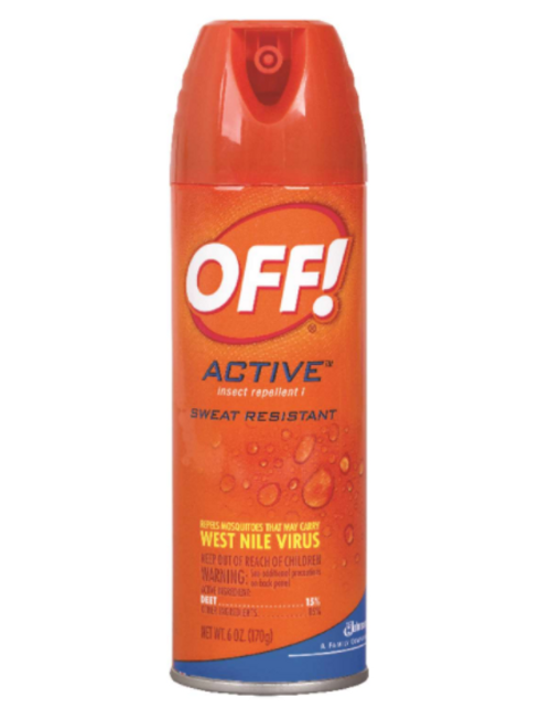 OFF! Insect Repellent Liquid For Mosquitoes, Flies, Fleas, Other Flying Insects - 6 oz