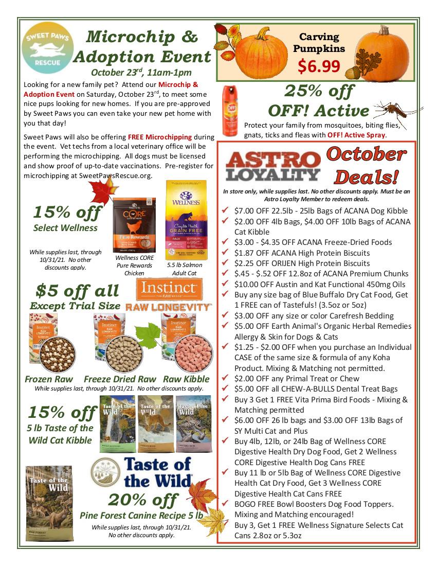 Essex Co-Op's October Newsletter