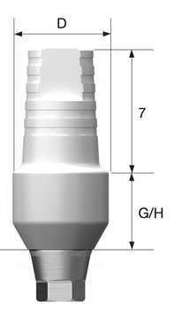Quick Temp Abutment, Standard