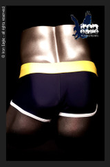 Iron Eagle Low Rise Briefs  - navy/red