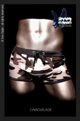 Iron Eagle Low Rise Trunks - camouflage
