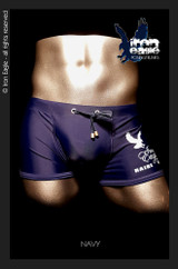 Iron Eagle Low Rise Trunks - navy