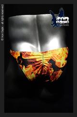 Iron Eagle Posing Trunks - Blaze