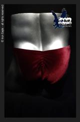 Iron Eagle Posing Trunks - Burgundy Velvet